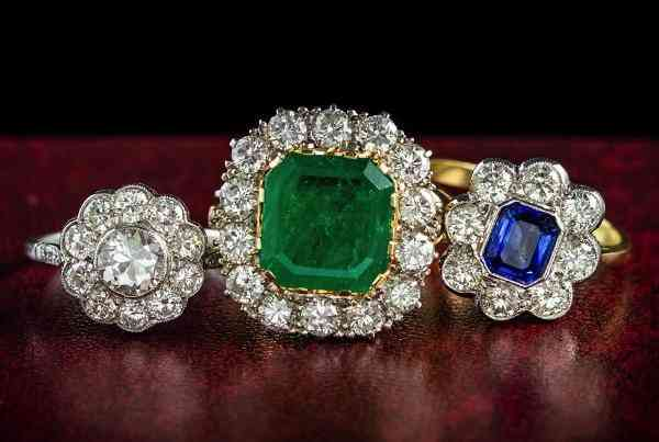Rings Laurelle Antique Jewellery